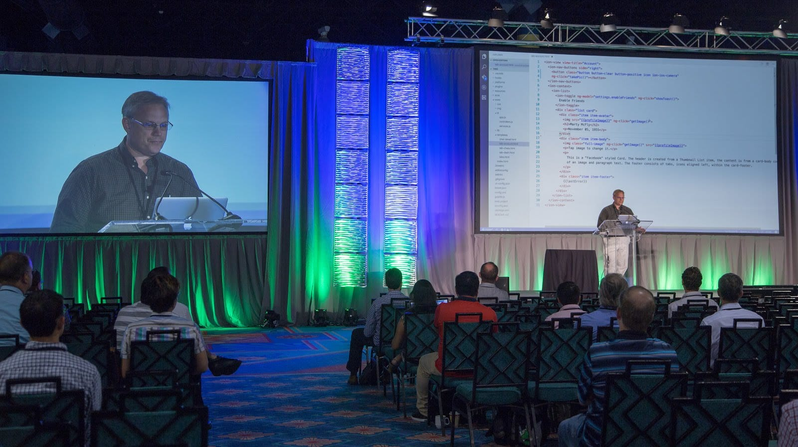 my presentation on the Ionic Framework, given at Disney's Coronado Springs Resort and Convention Center