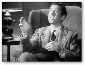 James Stewart in Harvey