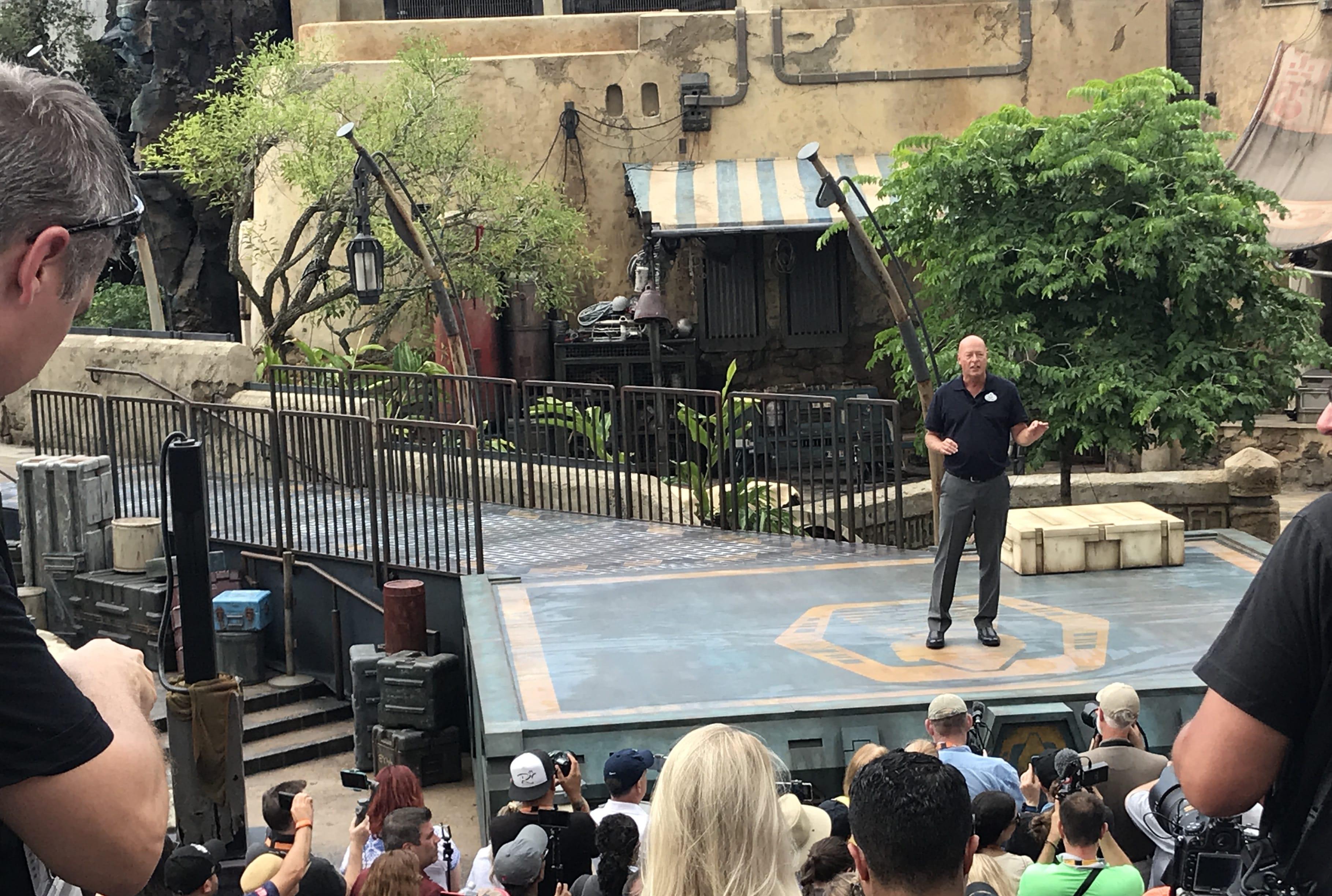 Star Wars: Galaxy's Edge Dedication
