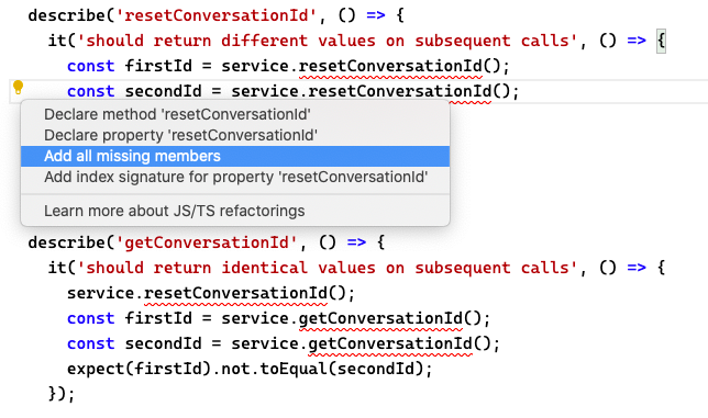VS Code adds missing service functionality